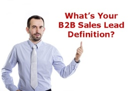 B2B Sales Lead Generation Definition